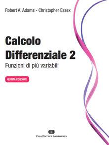 Chievoveronavalpo.it Calcolo differenziale. Funzioni di più variabili. Vol. 2 Image