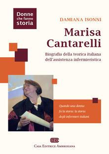 Camfeed.it Marisa Cantarelli. Biografia della teorica italiana dell'assistenza infermieristica Image