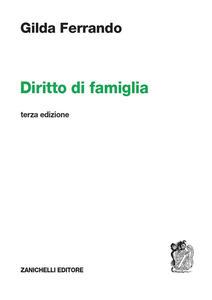 Diritto di famiglia - Gilda Ferrando - copertina