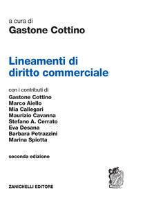 Lineamenti di diritto commerciale - copertina