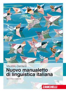 Promoartpalermo.it Nuovo manualetto di linguistica italiana   Image