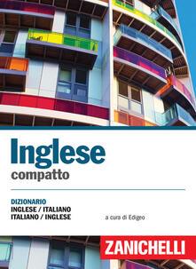 Camfeed.it Inglese compatto. Dizionario inglese-italiano, italiano-inglese Image