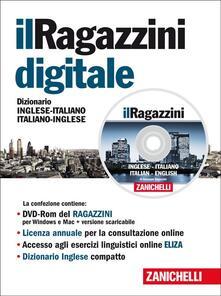 Antondemarirreguera.es Il Ragazzini digitale 2014. Dizionario inglese-italiano, italiano-inglese. DVD-ROM. Licenza online di 12 mesi dall'attivazione Image