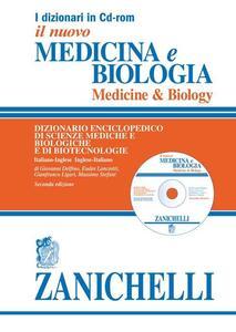 Il nuovo Medicina e biologia-Medicine & biology. Dizionario enciclopedico di scienze mediche e biologiche e di biotecnologie. CD-ROM - copertina
