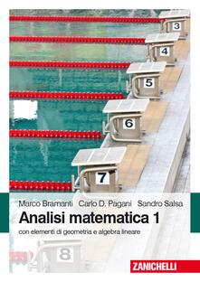 Letterarioprimopiano.it Analisi matematica 1. Con elementi di algebra lineare Image