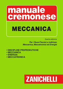 Parcoarenas.it Manuale cremonese di meccanica Image