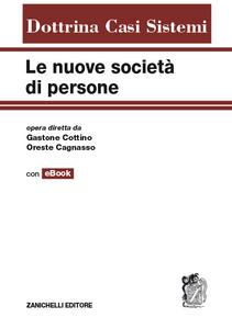 Libro Le nuove società di persone. Con e-book