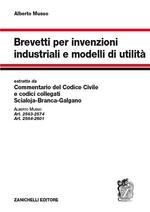 Brevetti per invenzioni industriali e modelli di utilità