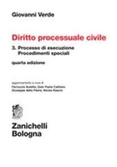 Diritto processuale civile. Vol. 3: Processo di esecuzione.