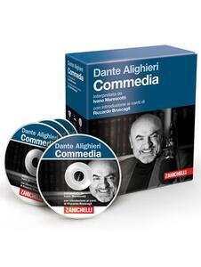 La «Commedia» di Dante letta da Ivano Marescotti. Audiolibro. 3 CD Audio - Dante Alighieri - copertina