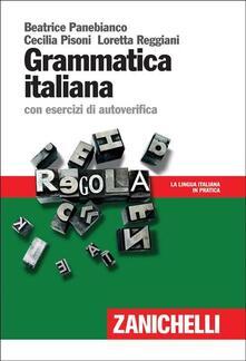 Ascotcamogli.it Grammatica italiana. con esercizi di autoverifica Image