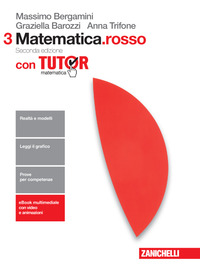 MATEMATICA ROSSO 3 ED. MISTA