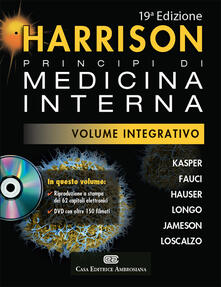 Capturtokyoedition.it Harrison. Principi di medicina interna. Volume integrativo. Con DVD-ROM Image