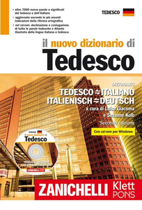 Libro Il nuovo dizionario di tedesco. Dizionario tedesco-italiano italiano-tedesco. Con CD-ROM