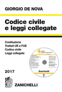 Codice civile e leggi collegate 2017. Con CD-ROM