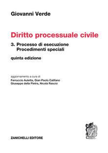 Antondemarirreguera.es Diritto processuale civile. Vol. 3: Processo di esecuzione. Image