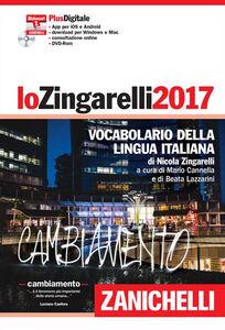 Foto Cover di Lo Zingarelli 2017. Vocabolario della lingua italiana. DVD. Con aggiornamento online, Libro di Nicola Zingarelli, edito da Zanichelli