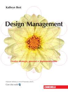 Filmarelalterita.it Design management. Gestire strategie, processi e implementazione Image