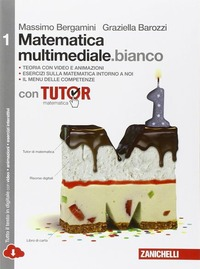 MATEMATICA MULTIMEDIALE.BIANCO 1 ED.ONLI