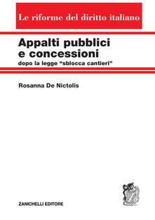 Daddyswing.es Appalti pubblici e concessioni dopo la legge «sblocca cantieri» Image