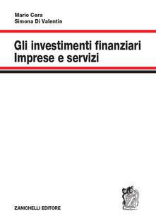 Gli investimenti finanziari. Imprese e servizi.pdf