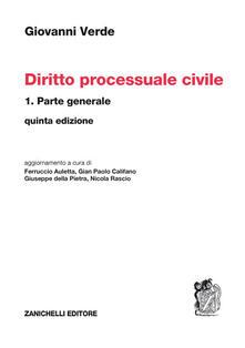 Diritto processuale civile. Vol. 1: Parte generale..pdf