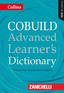 Cobuild advanced learner's dictionary - copertina