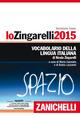 Zingarelli 2015. Voc