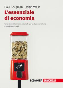 Ipabsantonioabatetrino.it L' essenziale di economia. Con e-book Image