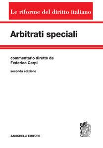 Arbitrati speciali - copertina