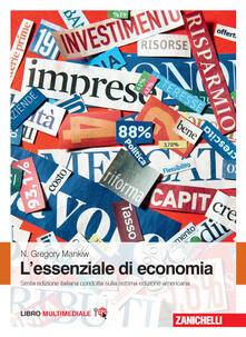 L' essenziale di economia. Con e-book - N. Gregory Mankiw - copertina