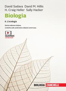 Steamcon.it Biologia. Con e-book. Vol. 6: ecologia, L'. Image