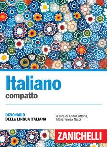 Antondemarirreguera.es Italiano compatto. Dizionario della lingua italiana Image
