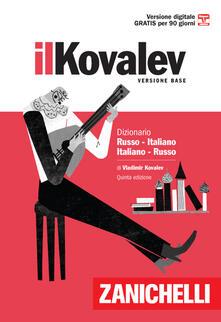 Il Kovalev minore. Dizionario russo-italiano, italiano-russo. Con Contenuto digitale (fornito elettronicamente) - Vladimir Kovalev - copertina