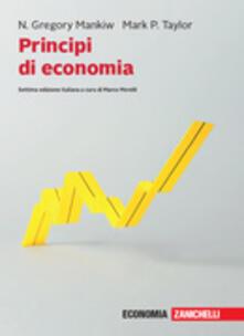 Principi di economia. Con e-book - N. Gregory Mankiw,Mark P. Taylor - copertina