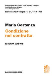 Art. 1353-1361. Condizione nel contratto.pdf