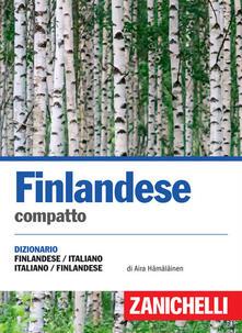 Finlandese compatto. Dizionario finlandese-italiano italia-suomi. Ediz. bilingue.pdf