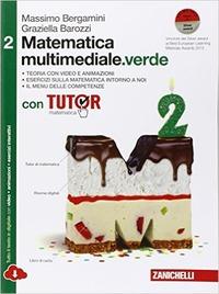 MATEMATICA MULTIMEDIALE VERDE 2 ED. MIST