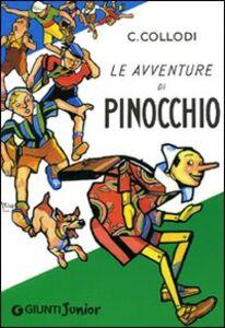 Libro Le avventure di Pinocchio Carlo Collodi 0