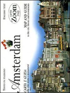 Foto Cover di Amsterdam. Carta e guida alla città: storia e monumenti, Libro di  edito da Giunti Editore