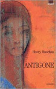 Libro Antigone Henry Bauchau