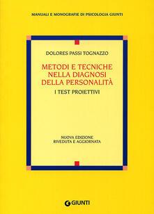 Premioquesti.it Metodi e tecniche nella diagnosi della personalità. I test proiettivi Image
