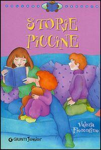 Libro Storie piccine Valeria Fiorentino 0