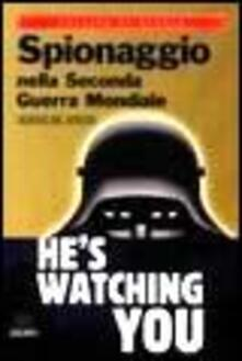Winniearcher.com Spionaggio nella seconda guerra mondiale Image