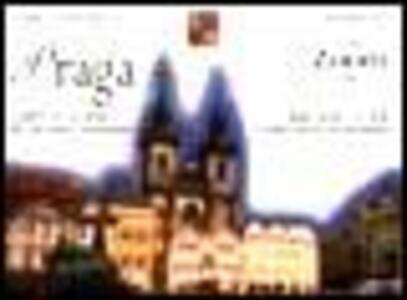 Praga. Carta e guida alla città: storia e monumenti