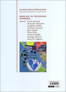 Manuale di psicologia generale - 2