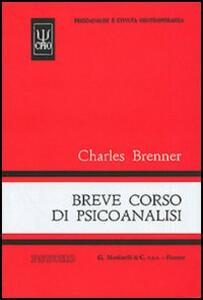 Breve corso di psicoanalisi - Charles Brenner - copertina