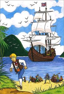 Libro L' isola del tesoro Robert L. Stevenson 3