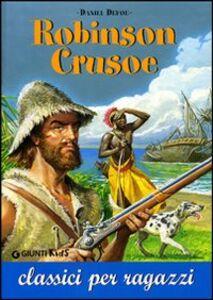 Libro Robinson Crusoe Daniel Defoe