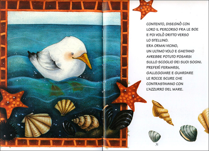 Libro Il gabbiano Gaetano Paola Coppini 1
